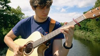Download Feels - Calvin Harris ft. Pharrell Williams, Katy Perry, Big Sean - Fingerstyle Guitar Cover MP3 song and Music Video