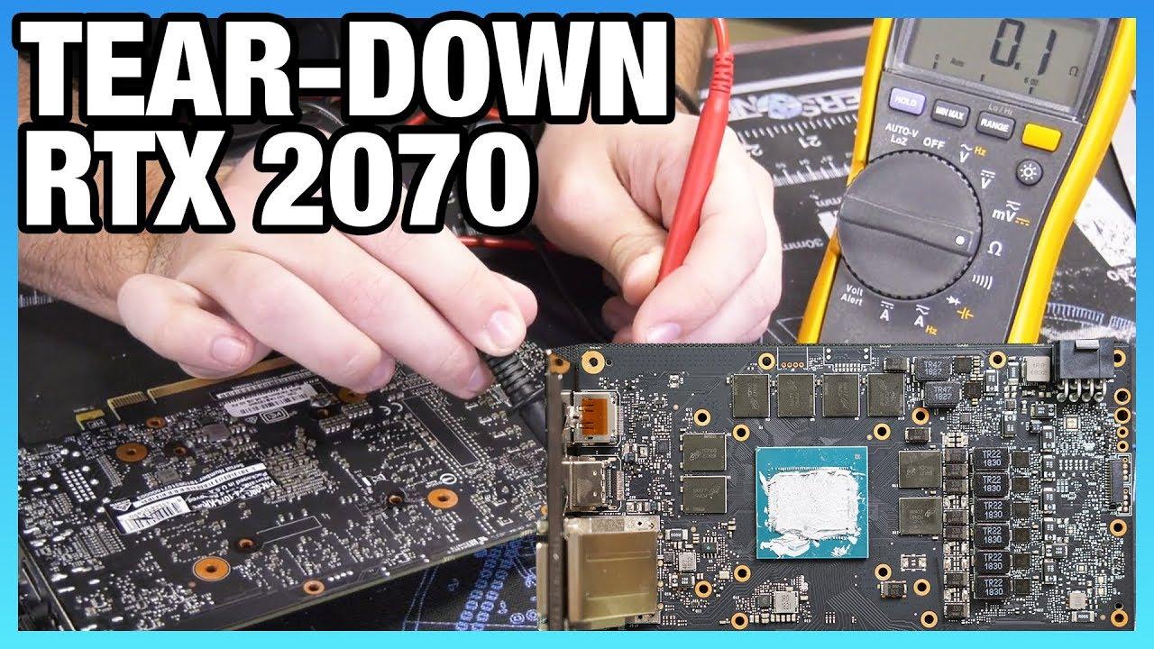EVGA RTX 2070 Tear-Down, Quality, & Reference PCB