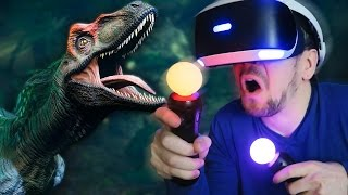 YOUR OWN PET DINOSAUR | Robinson: The Journey (Playstation VR)