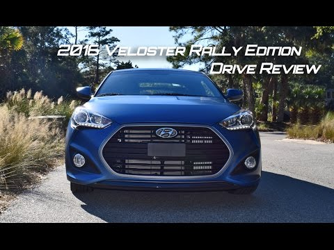 HD Drive Review 2016 Hyundai Veloster RALLY Turbo 6 Speed