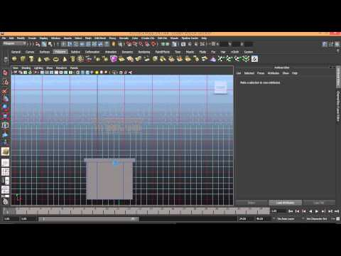 Orion Academy tutorial Autodesk Maya: Building