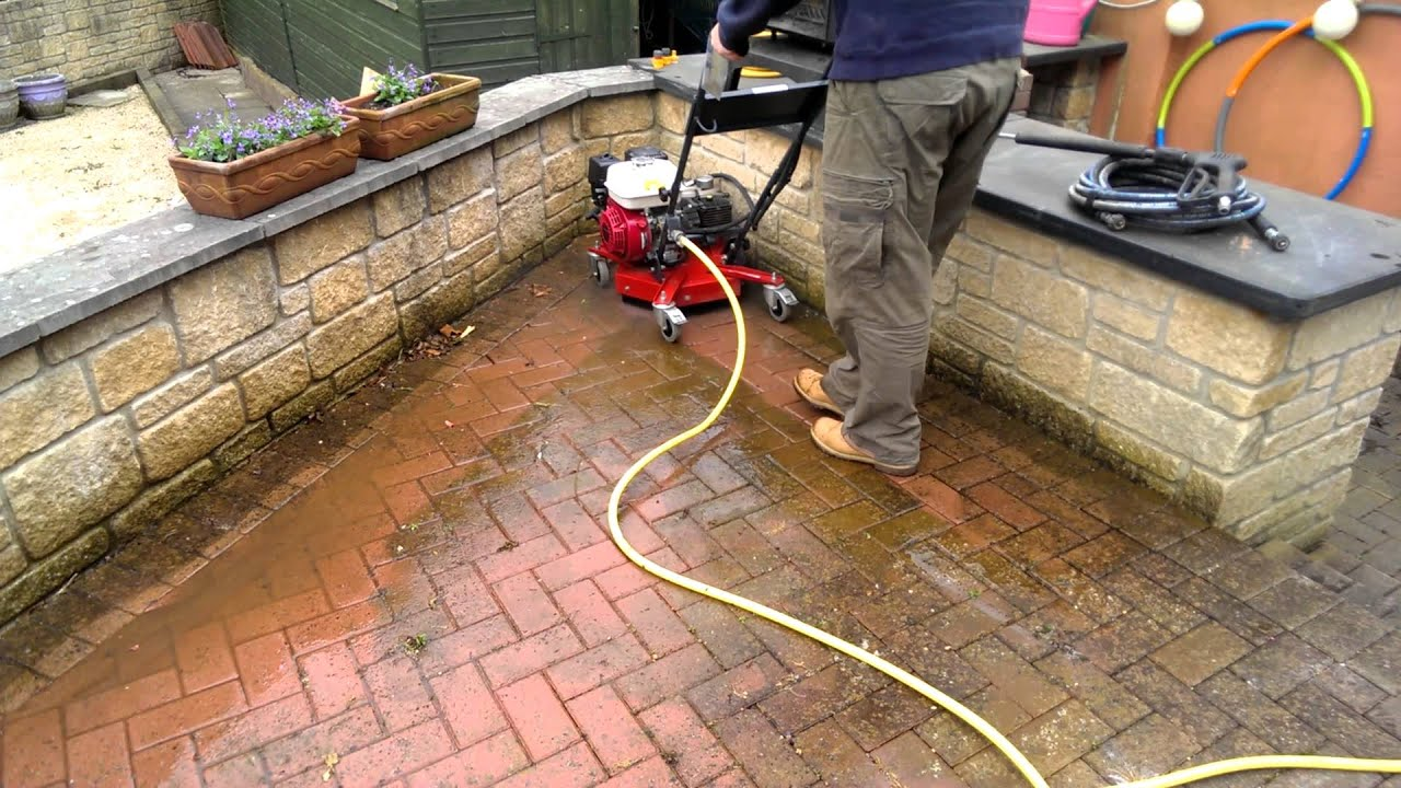 Alide Hire Services   Hurricane Patio Cleaner