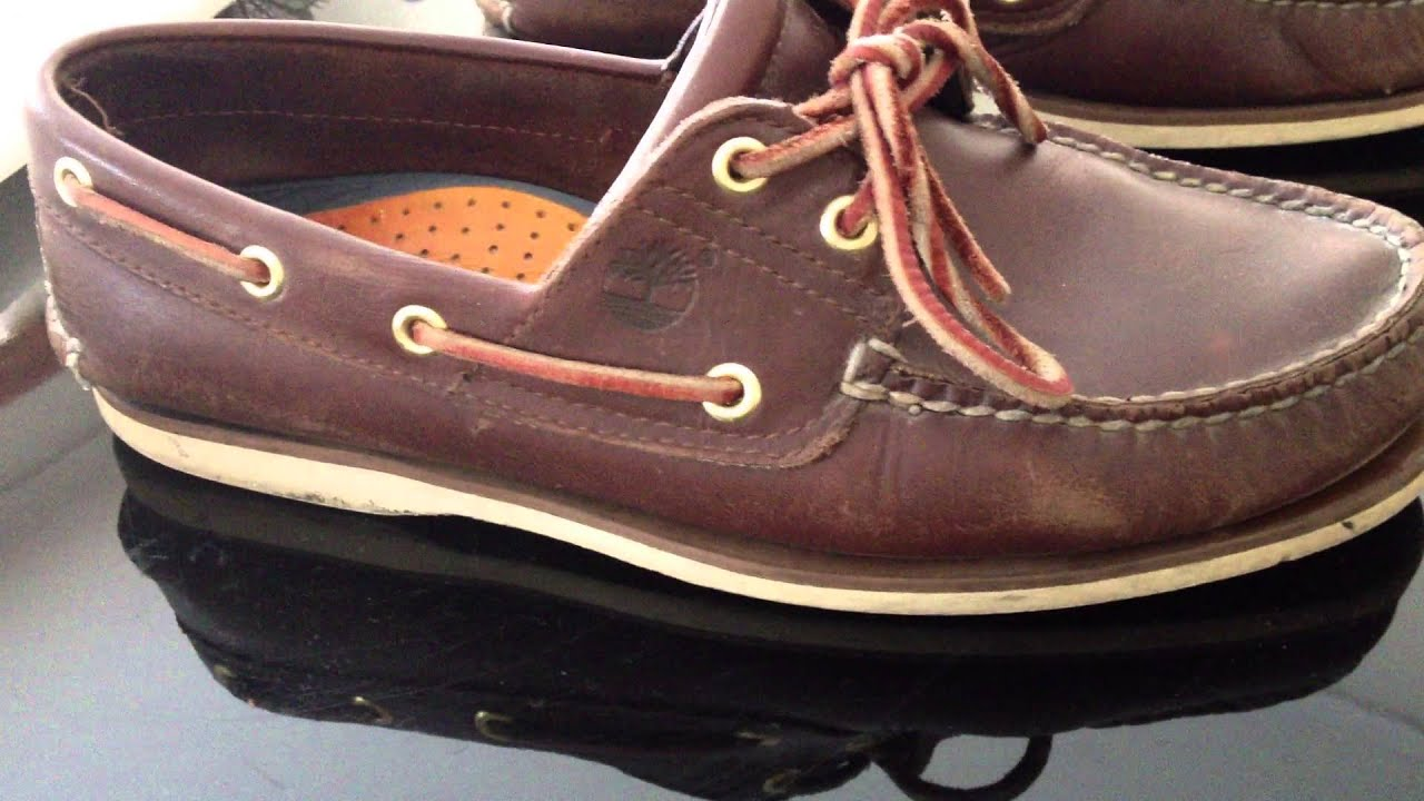 timberland 2 eye boat shoes