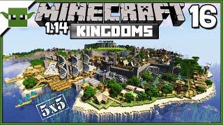 Minecraft 1.14 Mittelalterlichen Insel-Königreich Lets Build-S2E16 - Amphitheater