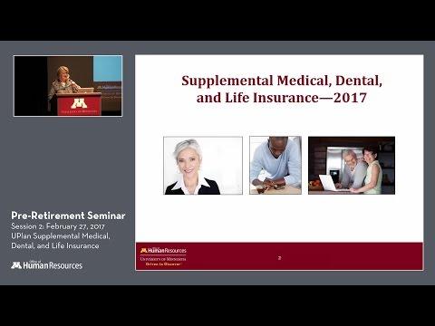 Supplemental Medical, Dental, and Life Insurance