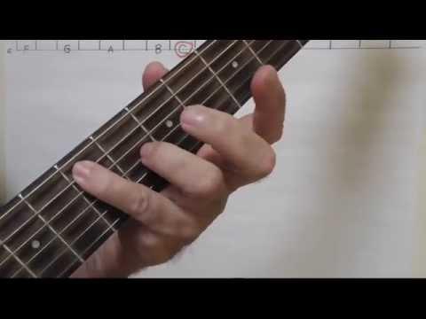LEARN GUITAR FRETBOARD FAST Plus Major Minor Pentatonic Scale!