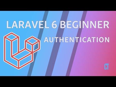 Laravel 6 Beginner - E15 - Authentication - Register, Login & Password Reset