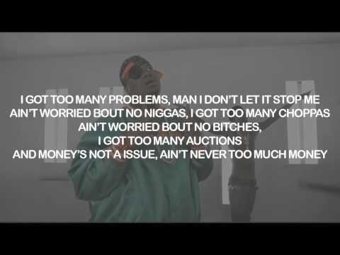 Doe B, Rich Homie Quan - 2 Many  | Lyrics on Screen