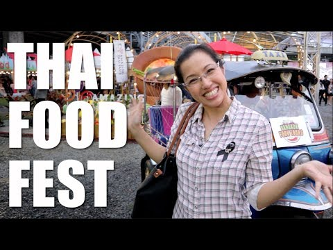 THAI FOOD FESTIVAL in Bangkok! (Amazing Thai Taste Festival) – Hot Thai Kitchen