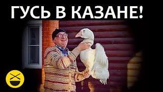 РЕЦЕПТ ГУСЯ В КАЗАНЕ! Потрясающий новогодний ГУСЬ! Только у Сталика!