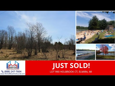 Lot 990 Holbrook Ct, Elmira, MI - 0.53 Acres Residential Vacant Land For Sale Owner Financing
