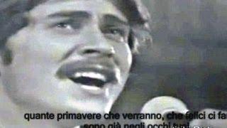 Occhi di Ragazza testo in video garantito  Gianni Morandi  4R  CSF Rieti