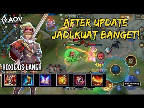 Roxie DS Laner, After Update diBuff jadi Kuat Banget! - Ranked AOV - Arena Of Valor