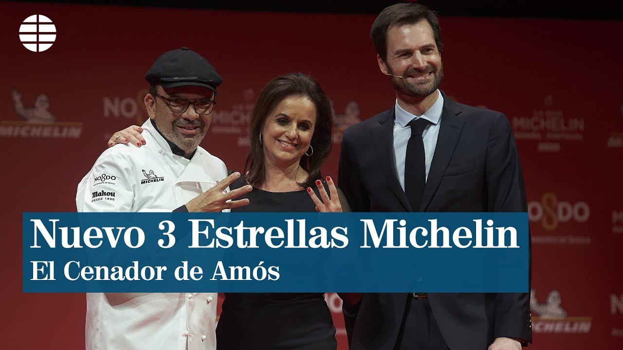 El Cenador de Amós, nuevo 3 estrellas de la Guía Michelin