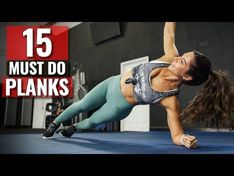 15 MUST-DO Plank Variation Exercises (STRONG CORE TRAINING)