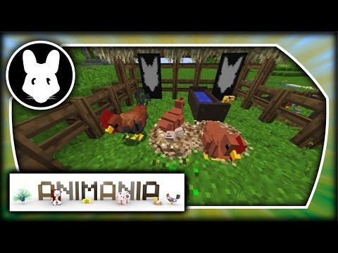 Animania: Chickens! Bit-by-Bit for Minecraft 1.11.2!