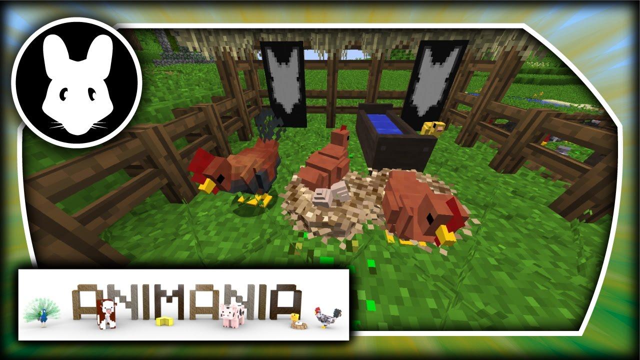 Animania: Chickens! Bit-by-Bit for Minecraft 1 11 2!