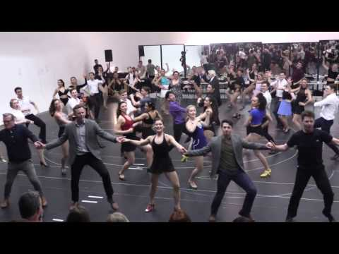"42ND STREET | London rehearsals – ""Lullabye of Broadway"""