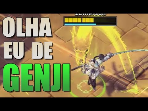 OLHA EU DE GENJI NO HEROES OF THE STORM