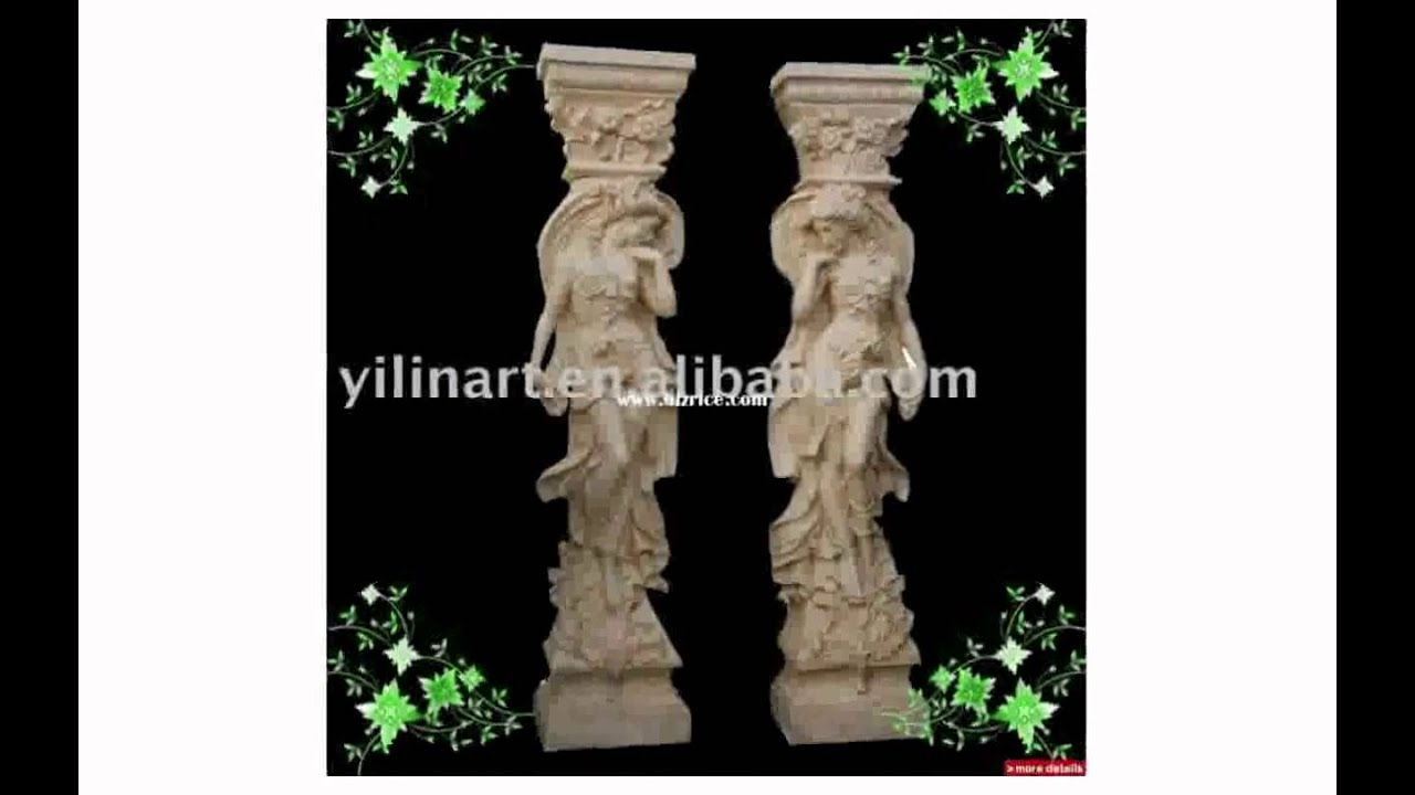 Decorative columns for wedding youtube for How to build decorative columns