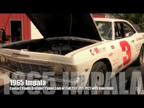2010 Chevy Impala For Sale >> '65 Chevy Impala - Vintage Race Car ** FOR SALE ** - YouTube