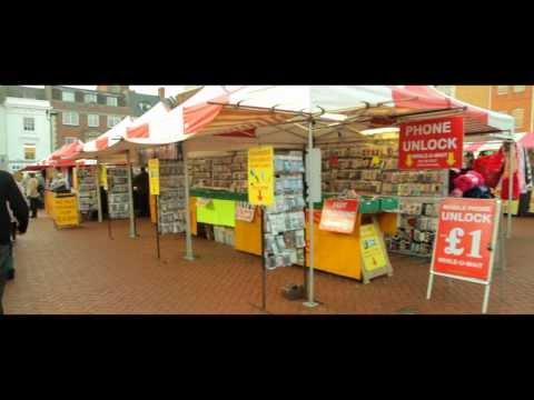 A Look at Northampton Town  - Town Centre Market