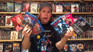 My Blu-ray Collection Update 7/25/15 : Blu ray and Dvd Movie Reviews