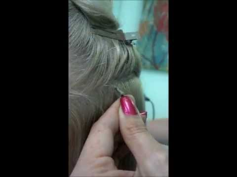Shrink link hair extensions tutorial youtube pmusecretfo Images
