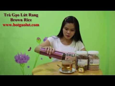 Cách pha Trà gạo lứt rang Brown Rice