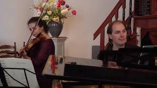 Schumann violin sonata no.2 op.121 (1/2 movements)