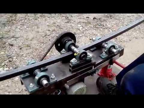 видео: трубогиб для профильной трубы