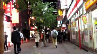 Akasaka Mitsuke ~10PM on a weeknight
