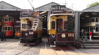 """Crich Tramway Village """"Electric 50"""" 13th September 2014"""