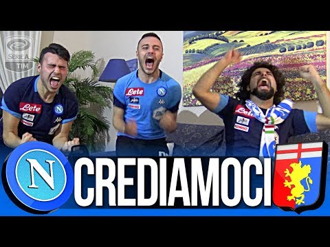 NAPOLI 1-0 GENOA | CREDIAMOCI!!! LIVE REACTION TIFOSI NAPOLETANI HD