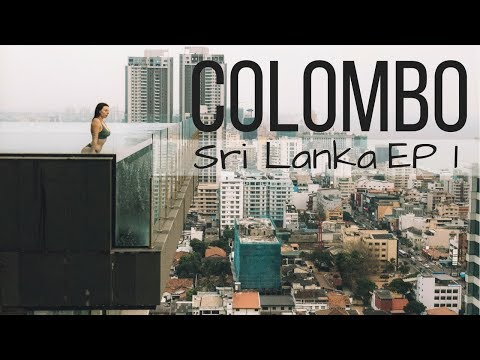 WE'VE ARRIVED IN SRI LANKA // Colombo, Sri Lanka Ep 1