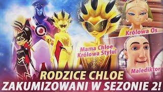 Miraculum: SEZON 2 - ODC pt: Wojna Królowych! - Rodzice Chloe zakumizowani!