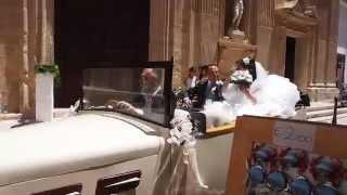 Видеорегистратор- настоящая итальянская свадьба в Галлиполи, южная Италия.