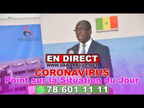 En direct : Ministère de la Santé point sur la situation du 4 juin
