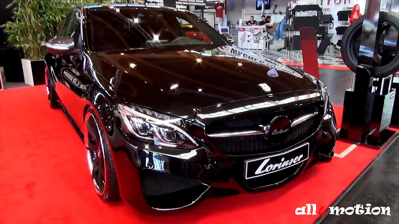 lorinser c class w205 tuning bodykit mercedes benz youtube. Black Bedroom Furniture Sets. Home Design Ideas