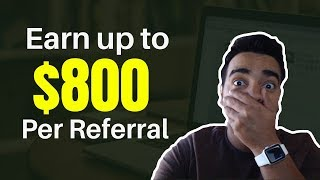 Affiliate Programs That Pay Up to $800 Per Referral