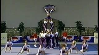 James Madison University  Cheerleading 1996 NCA Division 1 National Champions Rickey Hill
