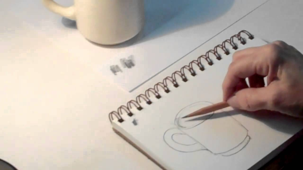 art tips 1 how to draw a coffee cup step by step art student academy youtube