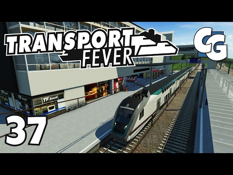 Transport Fever - Ep. 37 - Circle Line Complete (+ Giveaway) - Transport Fever Gameplay