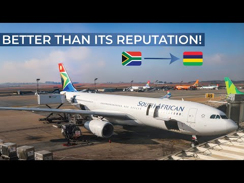 TRIPREPORT | South African Airways (ECONOMY) | Airbus A330-200 | Johannesburg - Mauritius