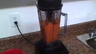 How to make Carrot Juice in the Vitamix.