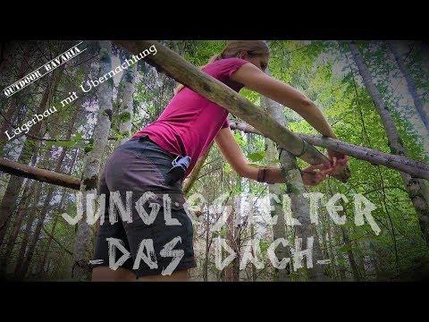 Jungleshelter - Lagerbau - Ein Dach über dem Kopf - Vanessa Blank - 4K - T1