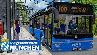 OMSI 2: Landeshauptstadt München #2 - Mit dem MAN A37 am Hauptbahnhof Nord!   BUS-SIMULATOR