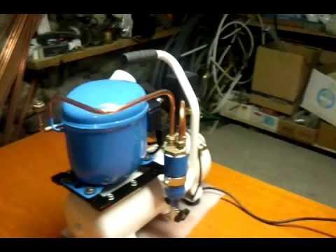 Compressore silenzioso per aerografia autocostruito