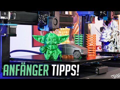 3D DRUCK: X1 Sidewinder - ANFÄNGER TIPPS, Baby Yoda & CYBERTRUCK!