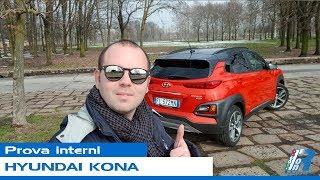 Prova interni Hyundai Kona - test drive